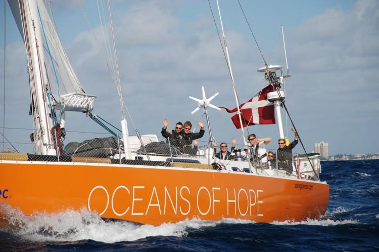 Oceans of hope boat