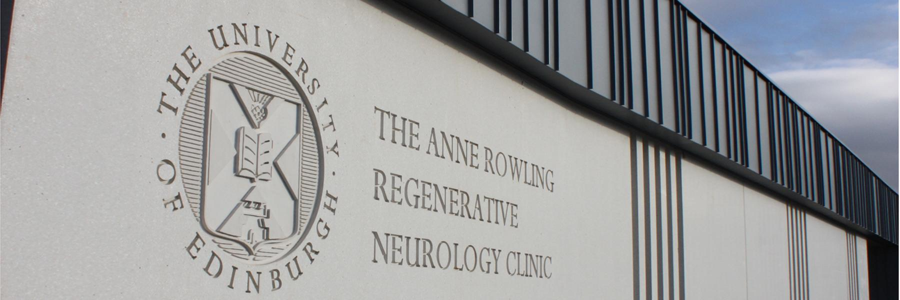 exterior of the Anne Rowling Clinic